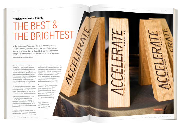 Accelerate America Awards THE BEST & THE BRIGHTEST