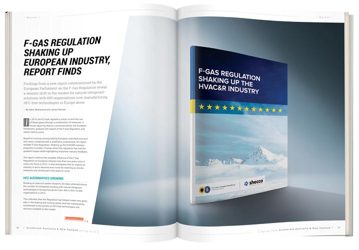 F-Gas Regulation shaking up European industry