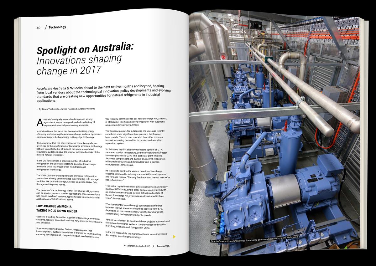 Spotlight on Australia: Innovations shaping change in 2017