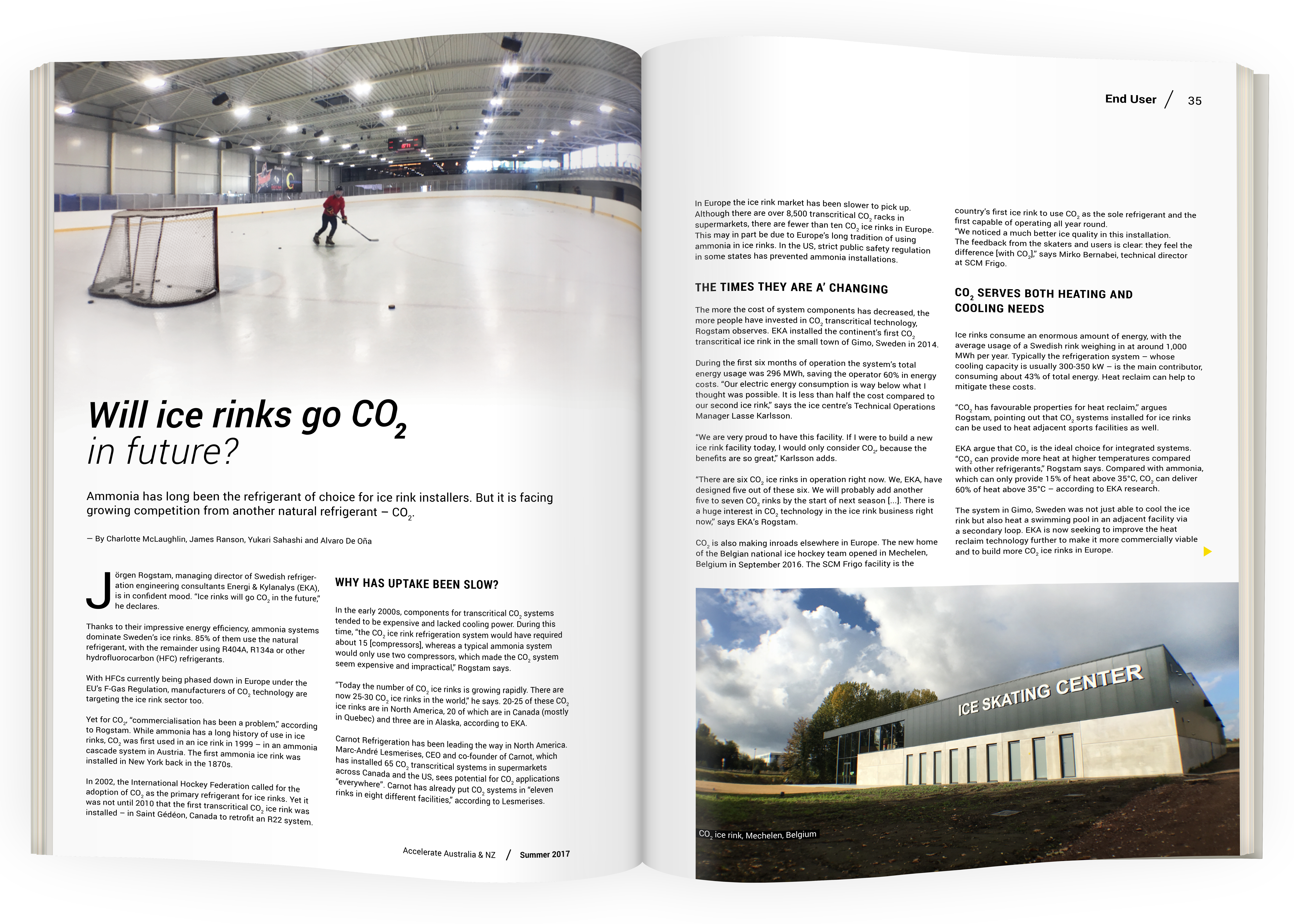 Will ice rinks go CO2 in future?