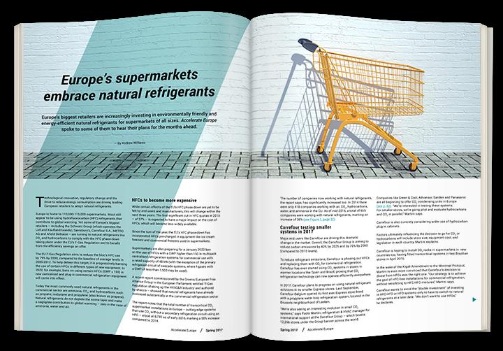 Europe's supermarkets embrace natural refrigerants