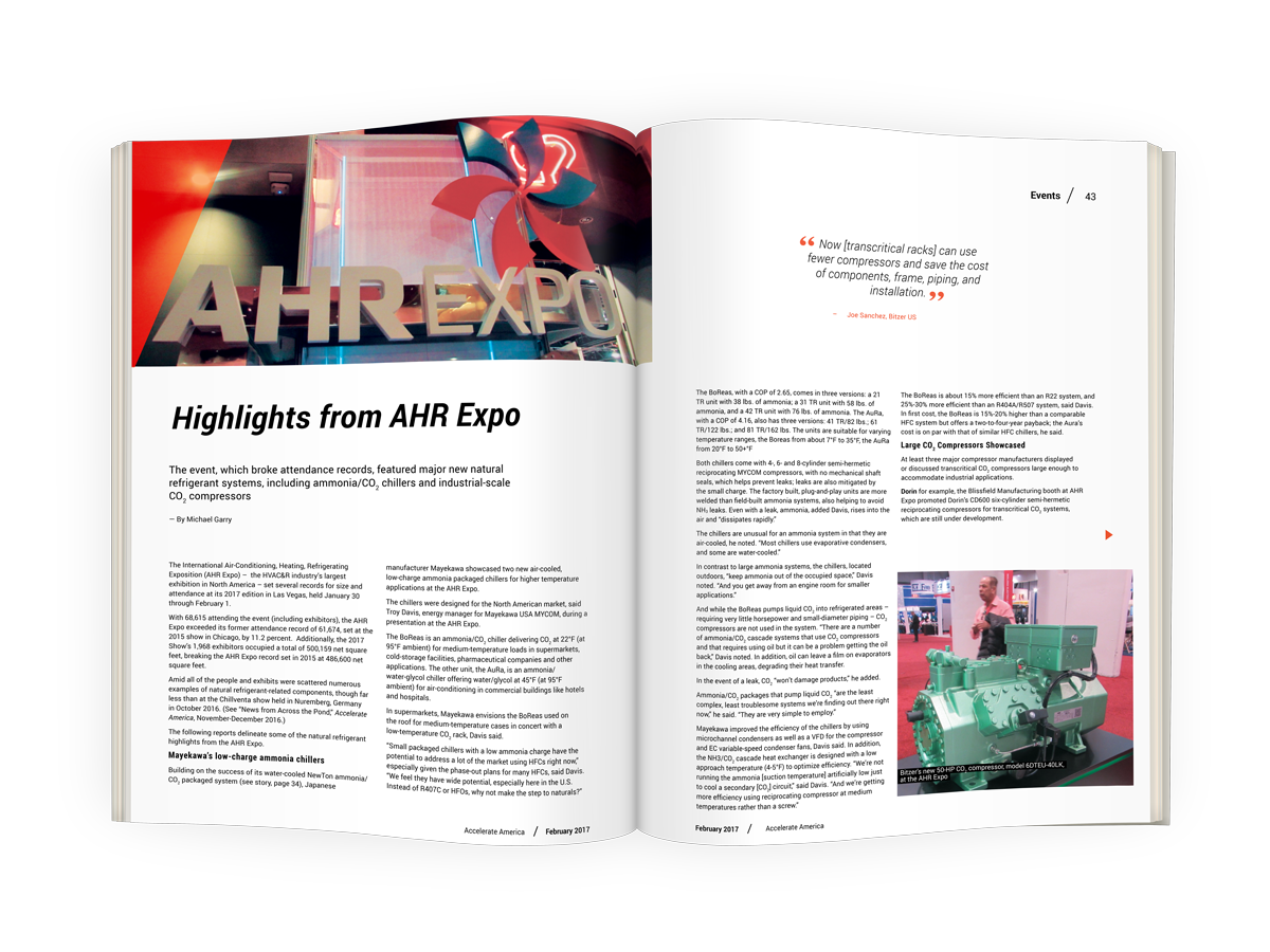 Highlights from AHR Expo