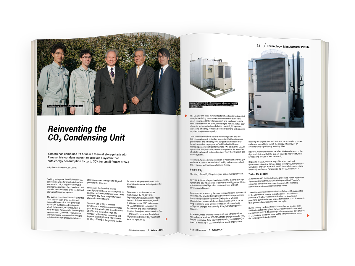 Reinventing the CO2 Condensing Unit