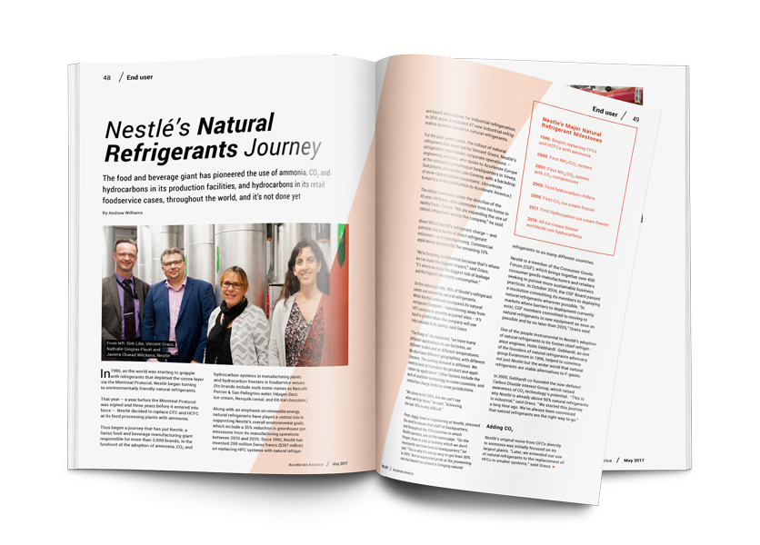 Nestlé's Natural Refrigerants Journey