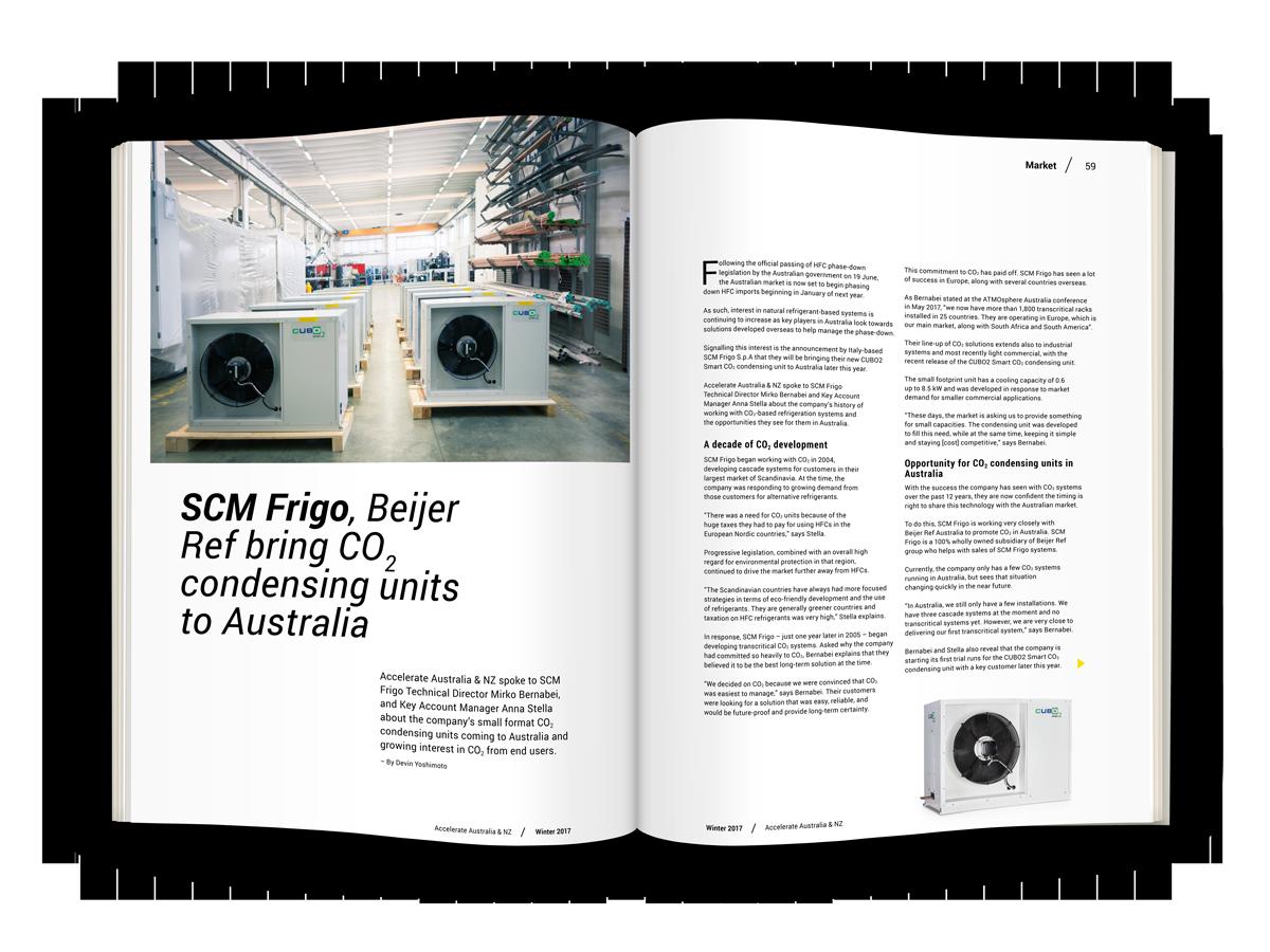 SCM Frigo, Beijer Ref bring CO2 condensing units to Australia