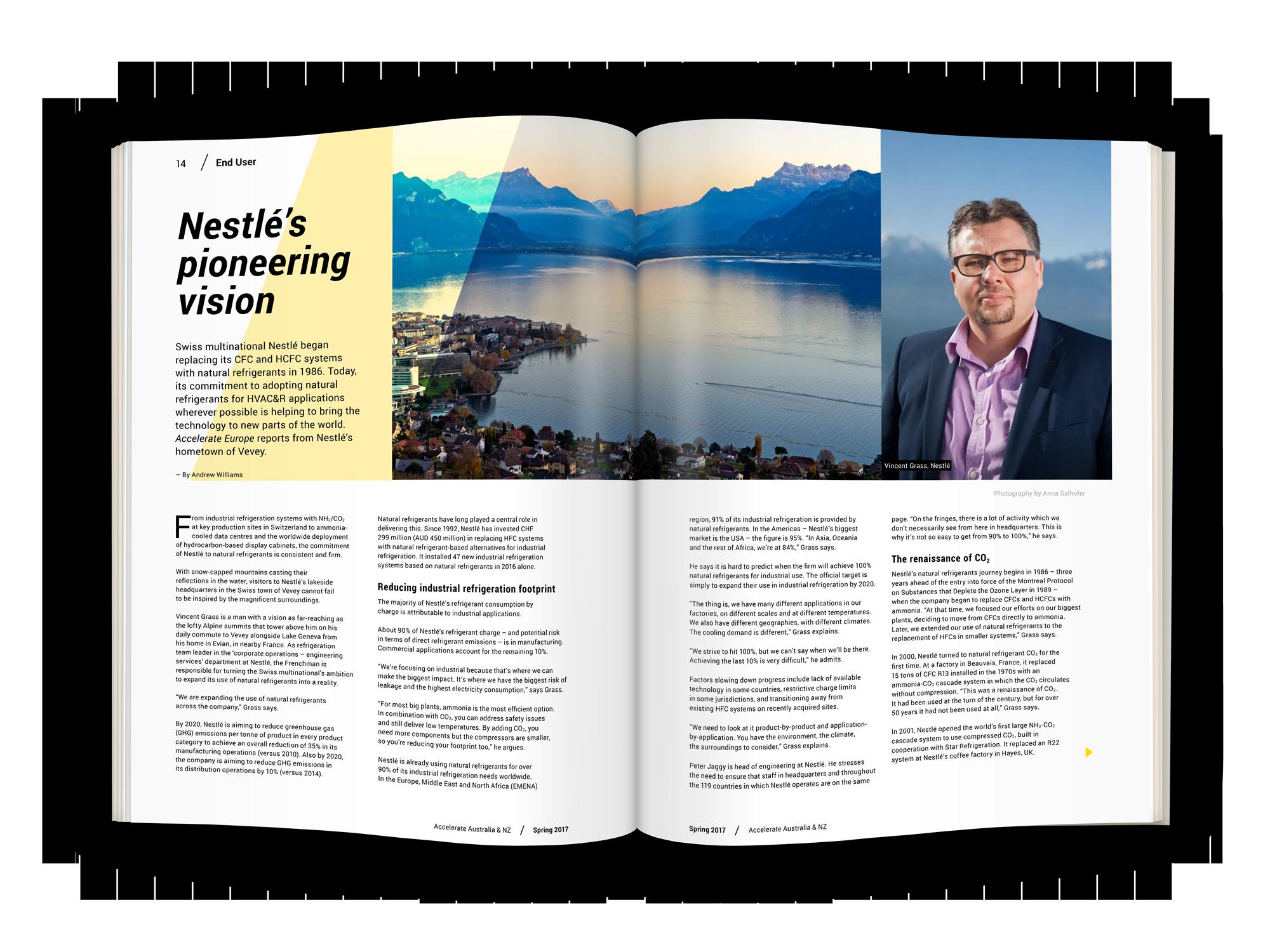 Nestlé's pioneering vision