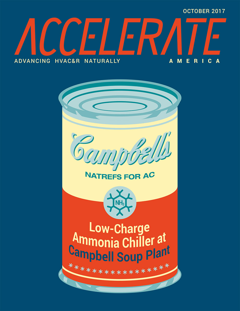 NatRefs for AC: Low-Charge Ammonia Chiller at Campbell Soup Plant
