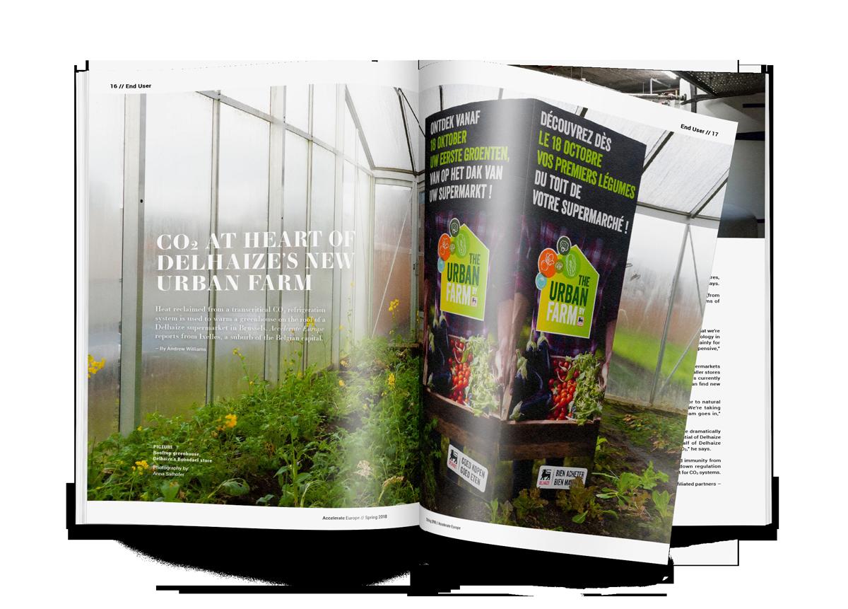 CO2 at heart of Delhaize's new Urban Farm