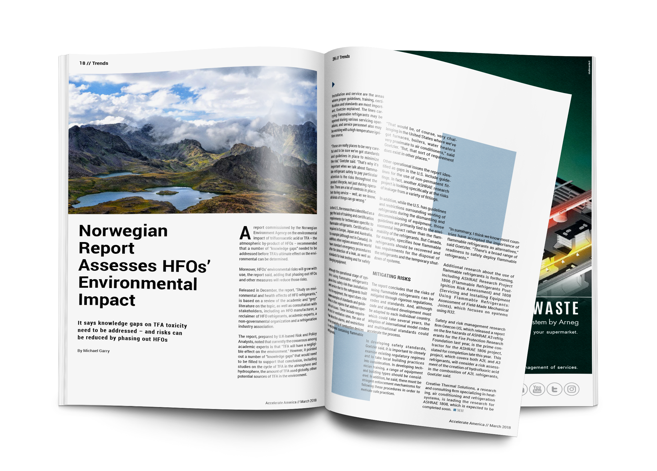 Norwegian Report Assesses HFOs' Environmental Impact