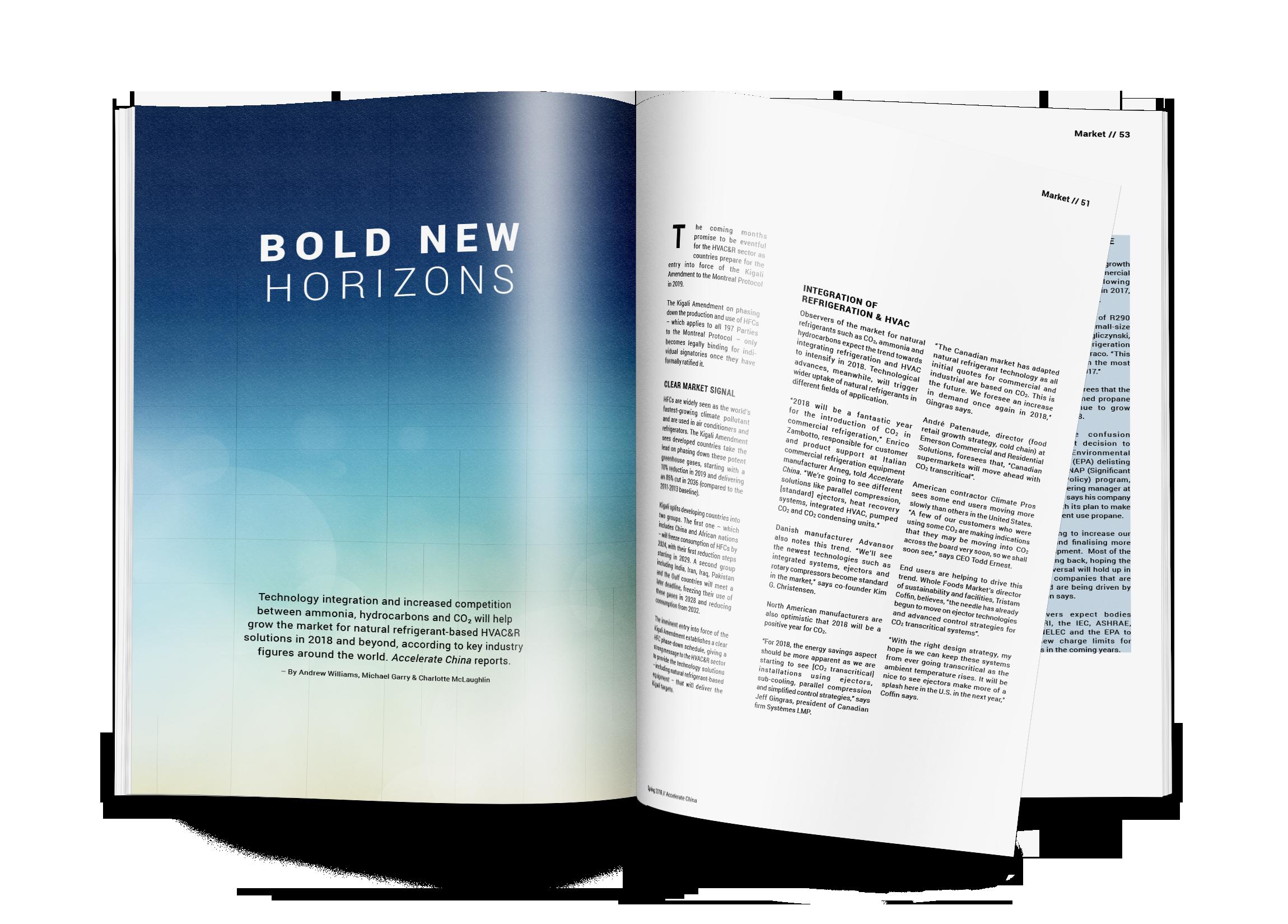 Bold New Horizons