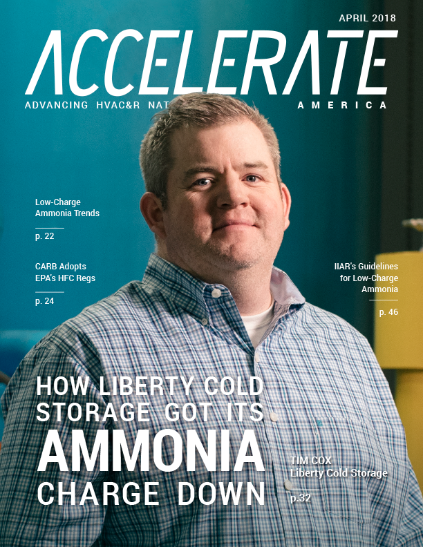 How Liberty Cold Storage Got Its Ammonia Charge Down