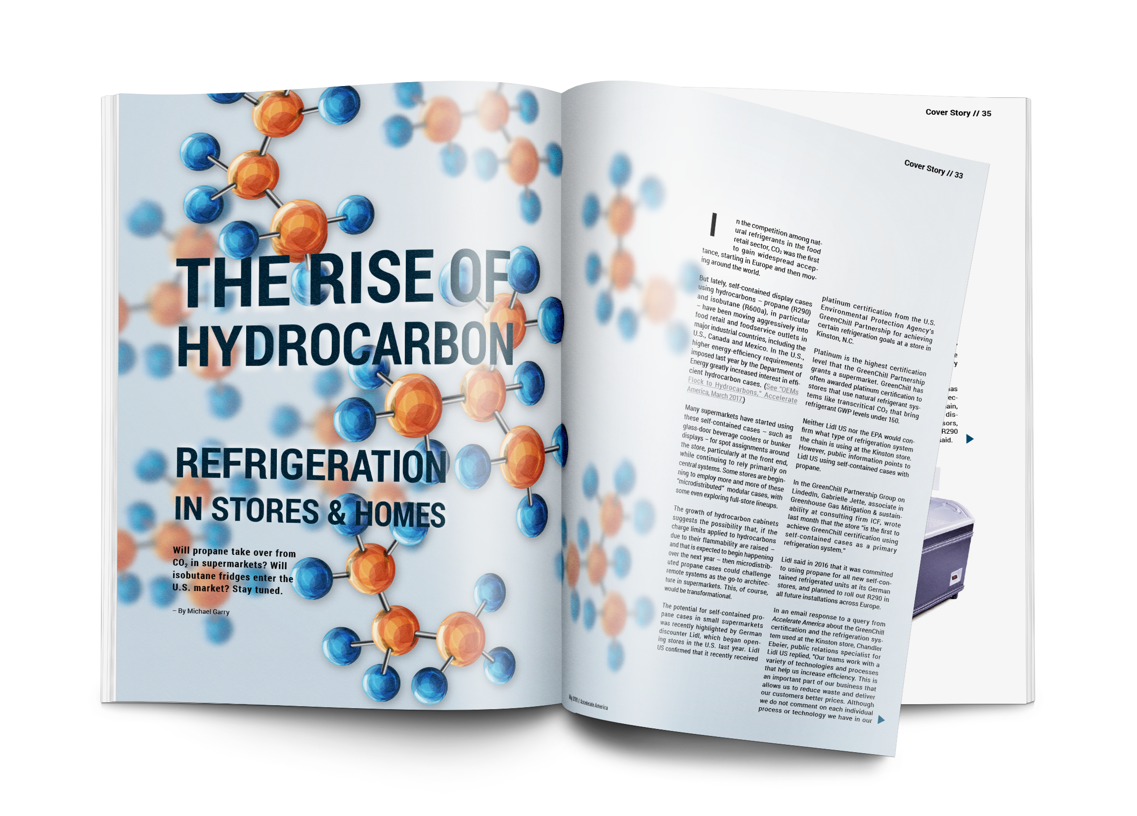 The Rise of Hydrocarbons in Stores and Homes