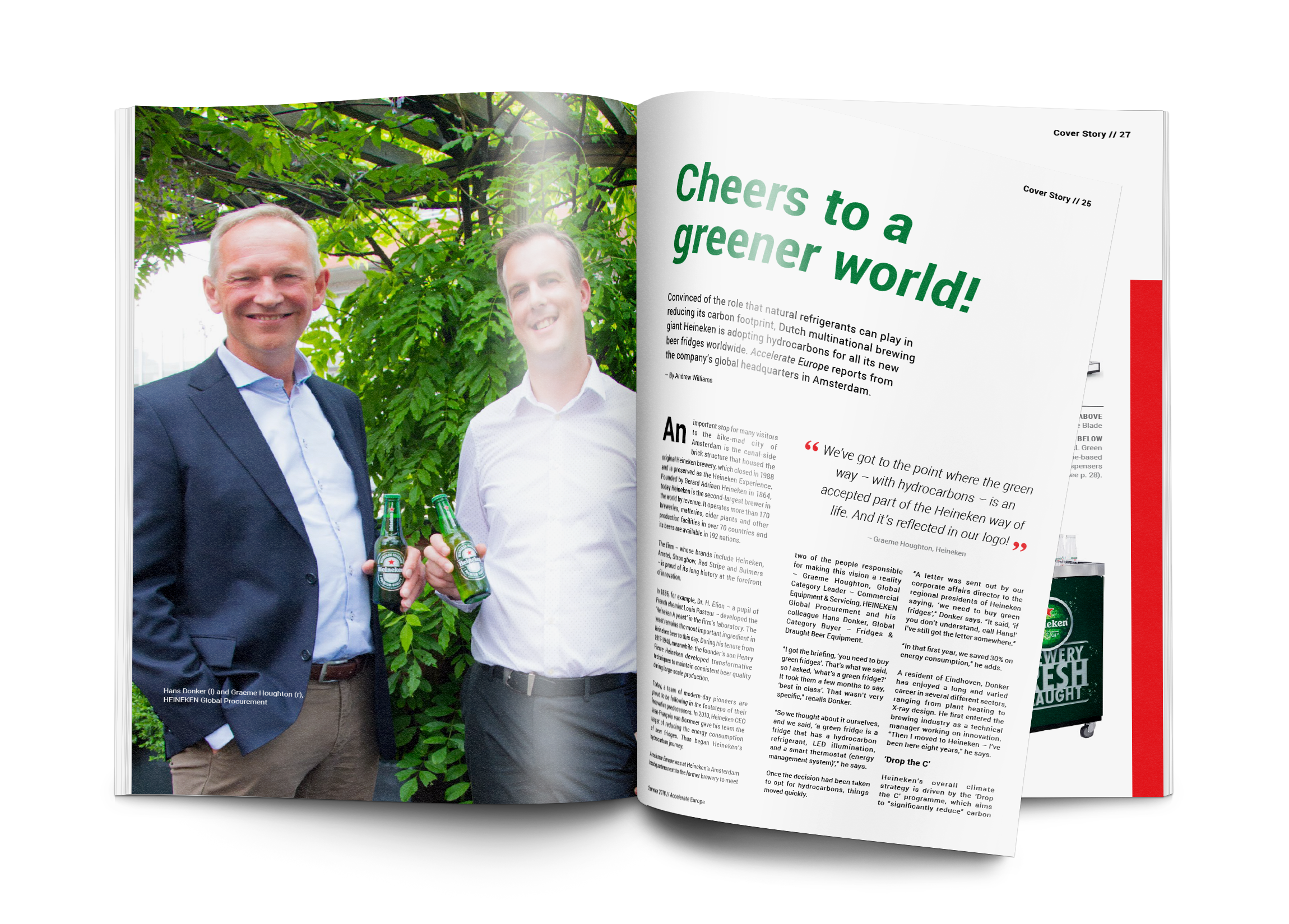 HEINEKEN: CHEERS TO A GREENER WORLD!