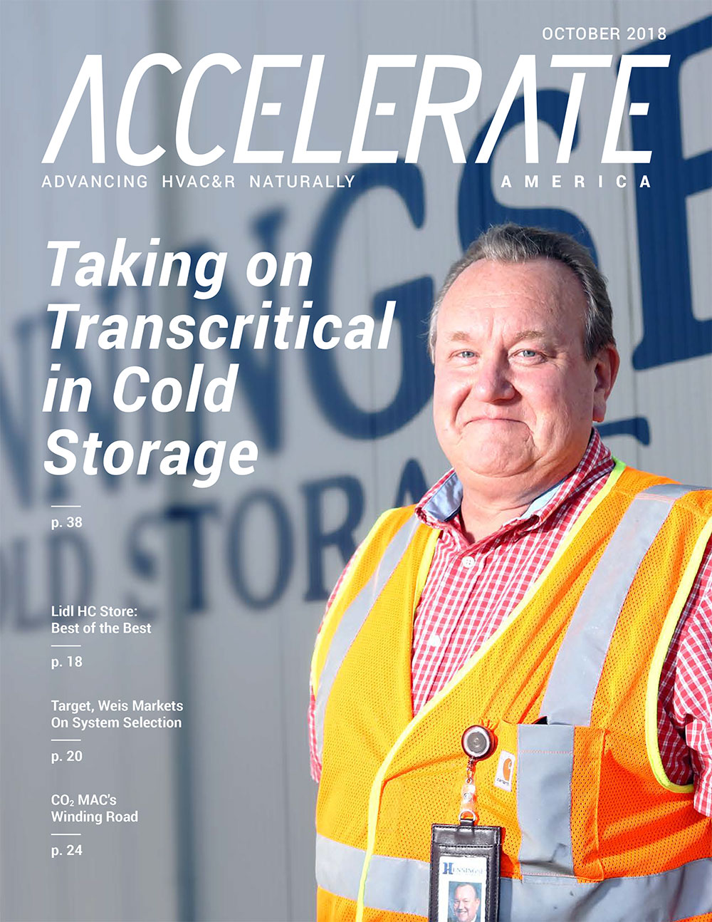 Taking on Transcritical in Cold Storage