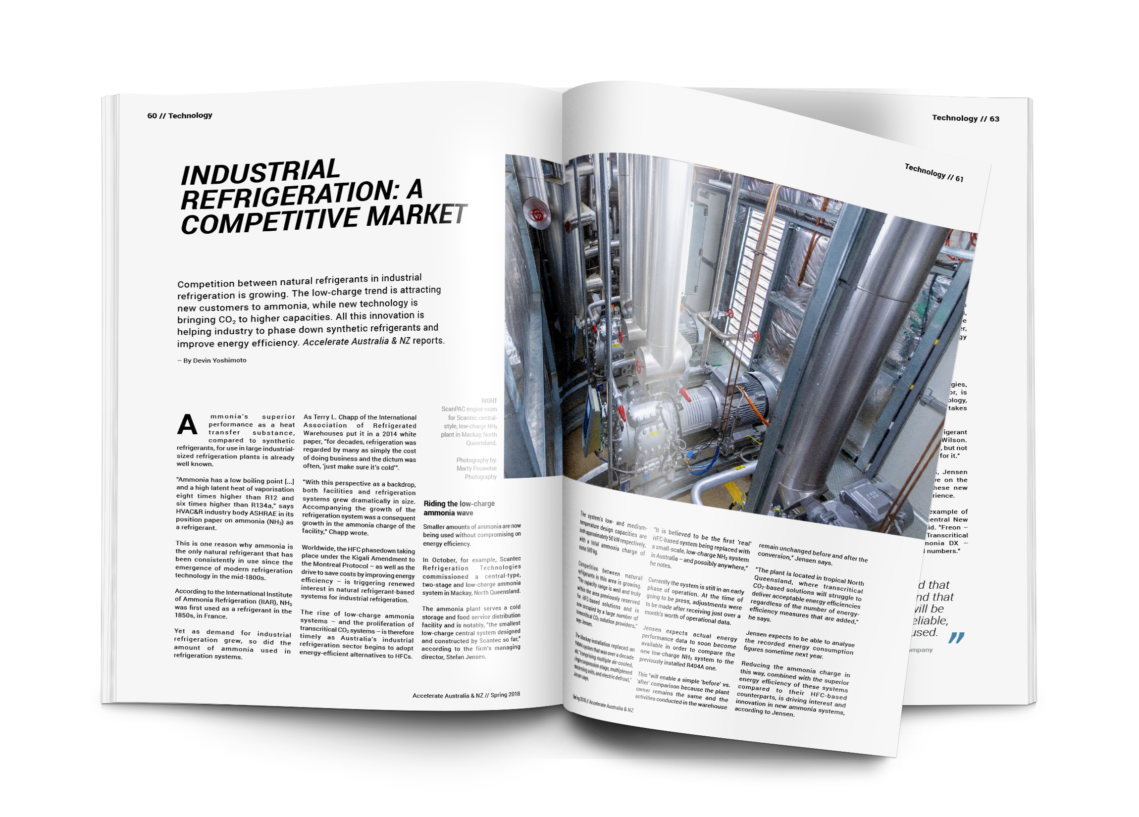 Industrial refrigeration: A competitive market