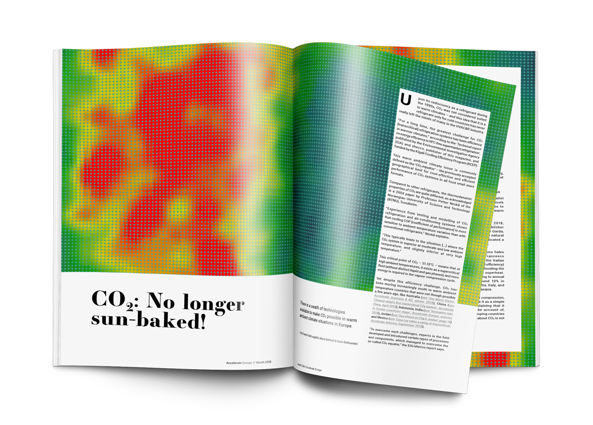 Technology Focus: CO2 – No longer sun-baked!