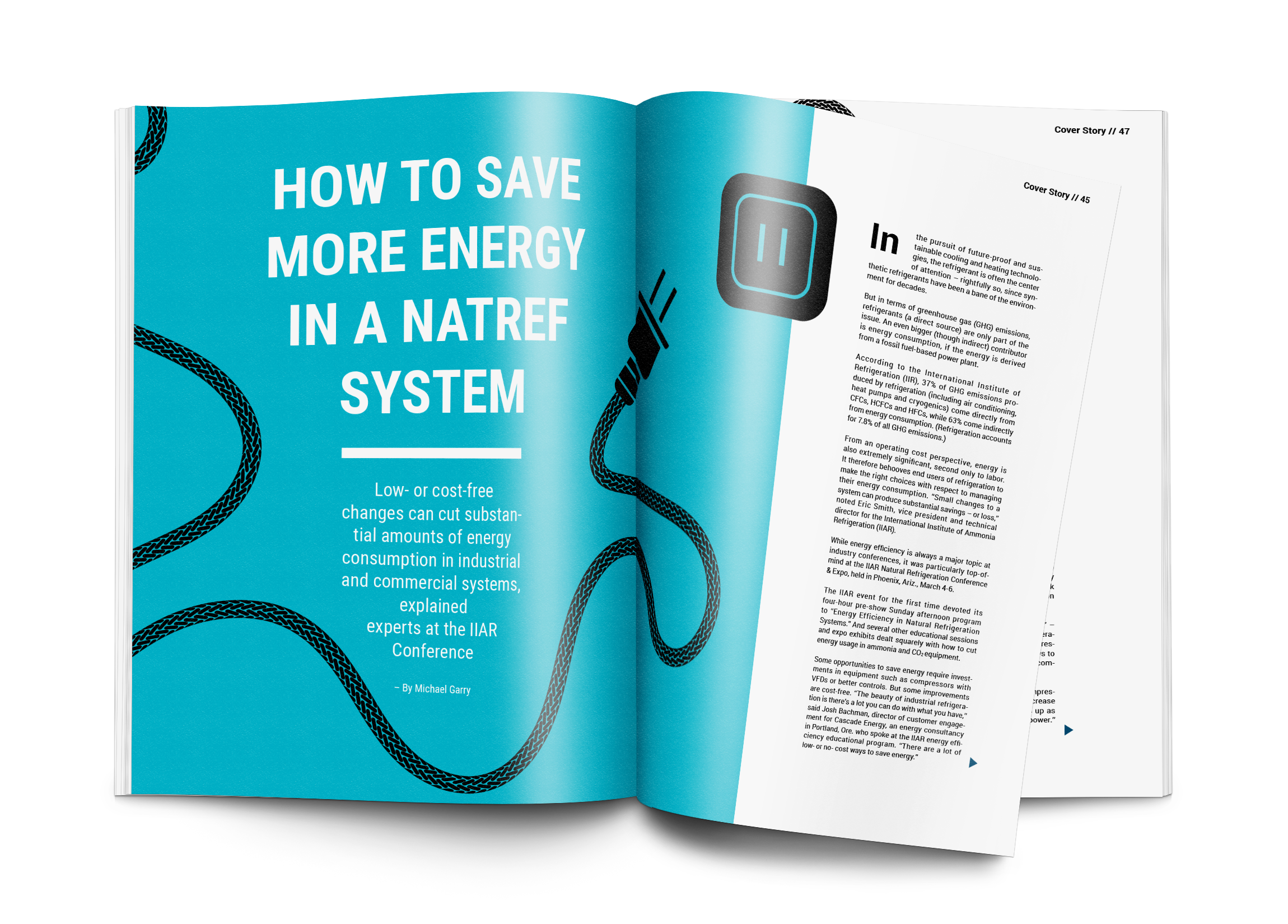 How to Save More Energy in a NatRef System