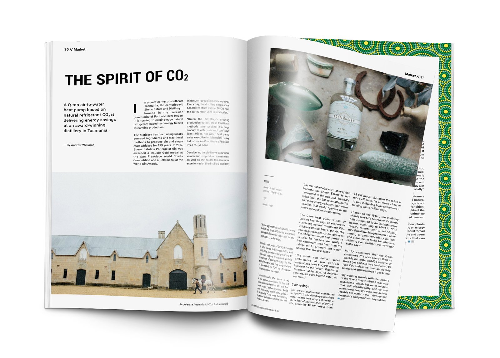 The spirit of CO<sub>2</sub>: Shene Estate and Distillery