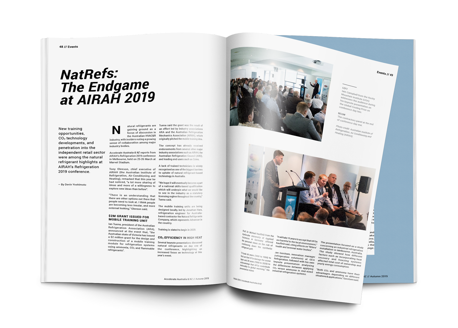 NatRefs: The Endgame at AIRAH 2019
