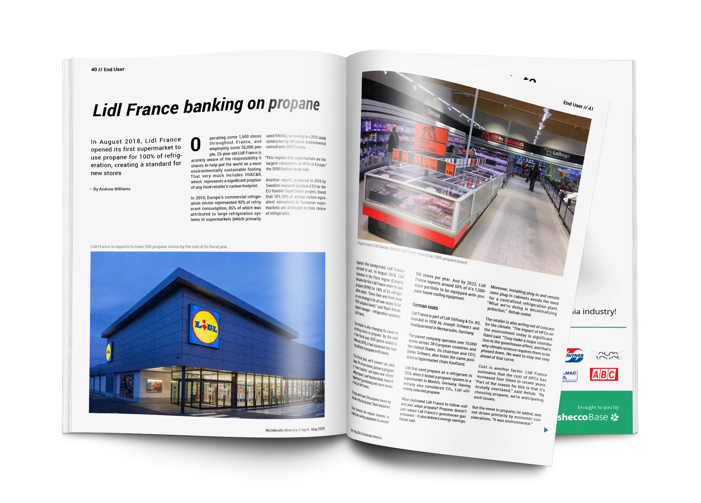 Lidl France banking on propane